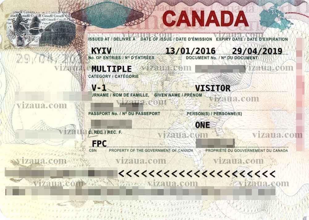 Виза в канаду самостоятельно пошаговая инструкция 2017